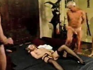 Older Man Grand Dad Jean Villroy Shagging Hot Babe Porn F1